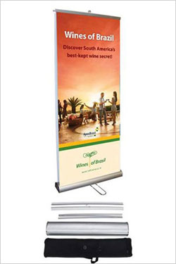 Double-Sided Banner Stands